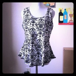 DEB peplum Top
